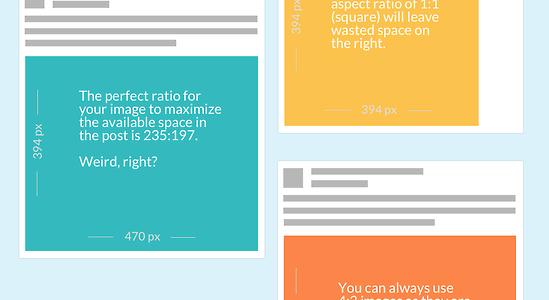 Guide des dimensions des images du fil d'actualité Facebook 2014 [Infographie]