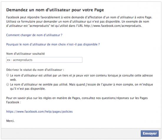 formulaire-changement-nom-utilisateur-page-facebook