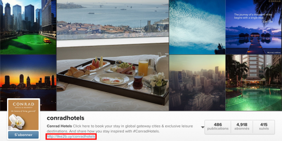 R server une chambre d 39 h tel sur instagram socialshaker for Reserver une chambre hotel