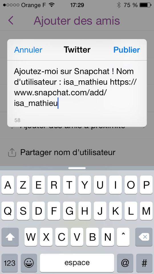 snapchat-url