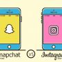 Comparatif des stories Snapchat versus les stories Instagram – Infographie