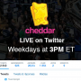 Cheddar diffuse une quotidienne tech et startup en direct exclusive sur Twitter