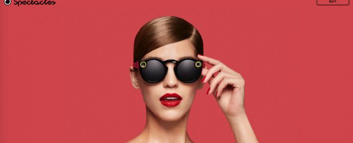 Les lunettes Spectacles de Snap sont en vente sur un site dédié
