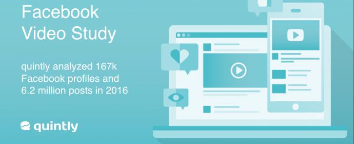 Les vidéos natives Facebook surpassent les autres types de vidéo [Etude]