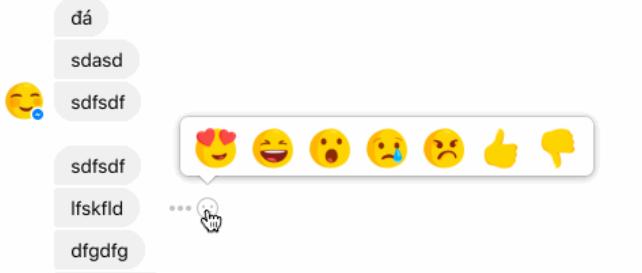 Facebook teste les réactions et le bouton Je n'aime pas dans les messages