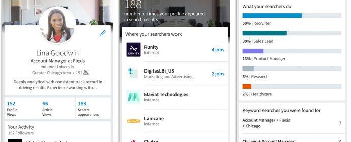 Nouvelle fonctionnalité LinkedIn: identifier les mots-clés utilisés pour trouver votre profil