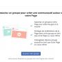 Les Pages Facebook peuvent créer des groupes en tant que Pages