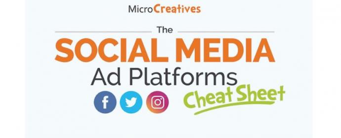 Fiche technique sur les objectifs publicitaires des réseaux sociaux – Infographie