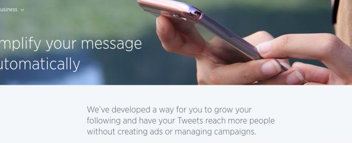 Twitter teste un abonnement publicitaire mensuel à 99$