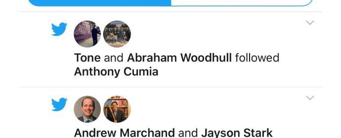 L'onglet notifications de Twitter devient plus bruyant