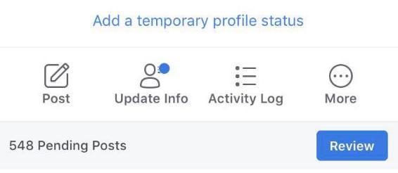 Facebook teste les statuts (texte) temporaires