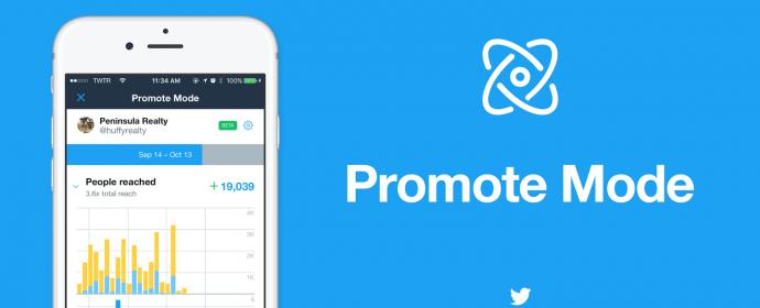 Twitter lance Promote Mode, un abonnement publicitaire mensuel de 99$