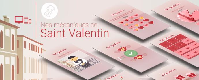 Catalogue des mécaniques pour la Saint Valentin