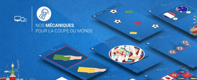Catalogue de jeux concours pour la Coupe du monde de foot