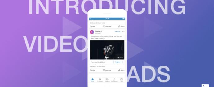 Les Pages LinkedIn peuvent désormais publier des vidéos natives