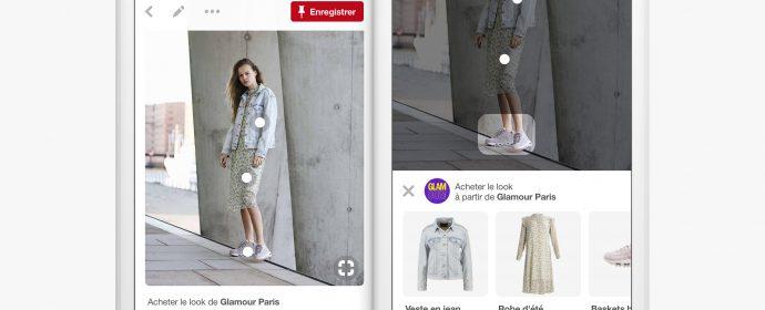 Pinterest déploie sa fonctionnalité e-commerce Shop The Look en France