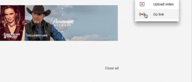 Les créateurs YouTube peuvent émettre en direct plus facilement