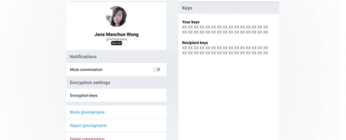 Twitter teste le chiffrement des messages privés