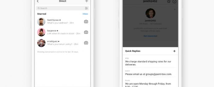 Instagram : nouvelles fonctionnalités pour les transactions avec les entreprises et arrivée du paiement intégré