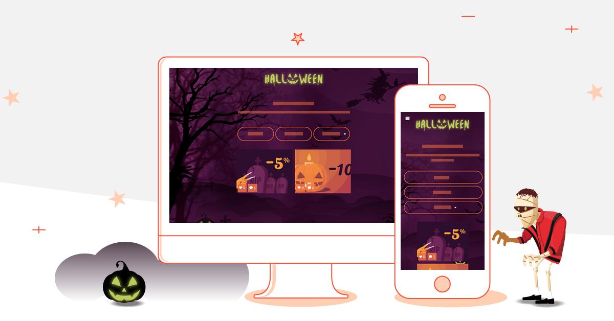 halloween jeux concours marketing