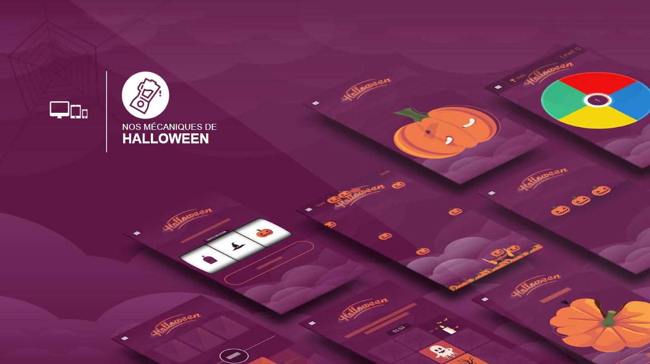 Catalogue de jeux concours pour Halloween