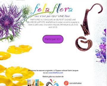 campagne lancée par folaflora (photocontest