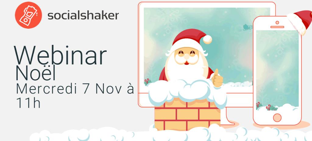 Webinar Noël : conseils et inspiration pour votre campagne marketing