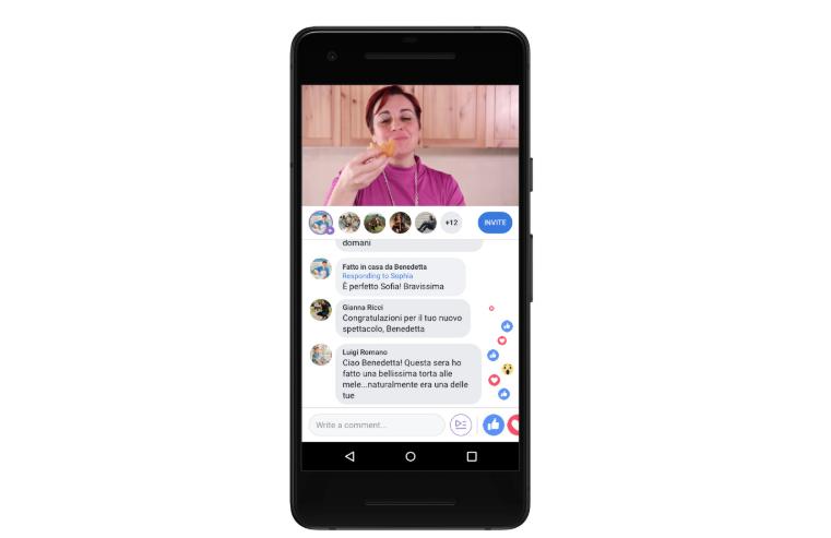 Facebook lance Watch Party pour les Pages et les Profils