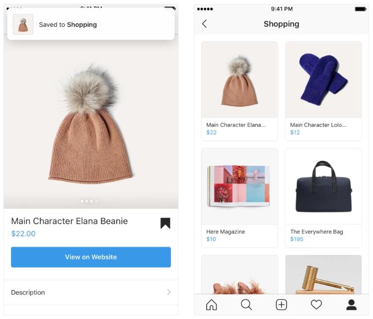 Instagram introduit 3 nouvelles fonctionnalités pour le shopping