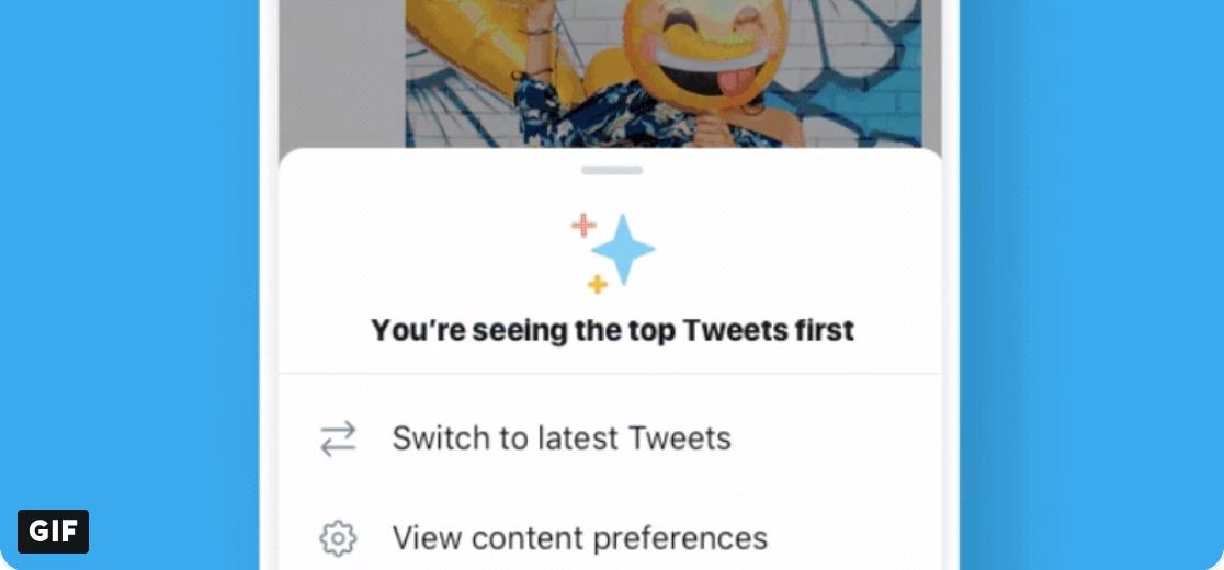 Twitter teste une option pour une timeline chronologique inversée