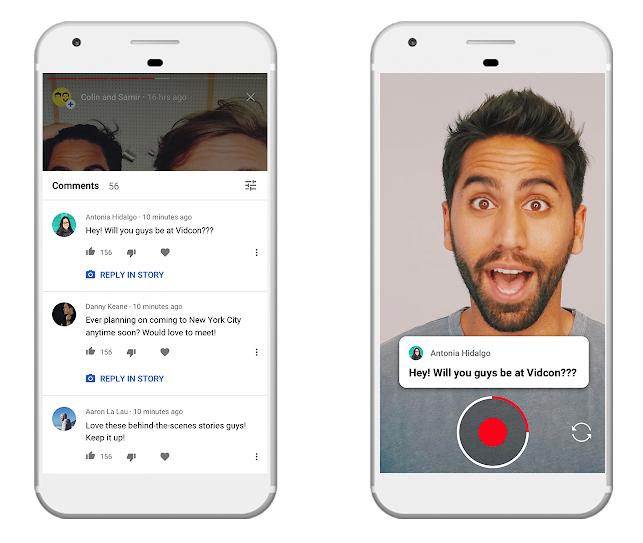 Les Stories YouTube deviennent accessibles aux créateurs de 10k+ abonnés