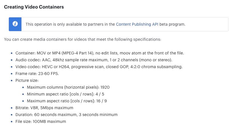 Les entreprises peuvent programmer directement des vidéos Instagram