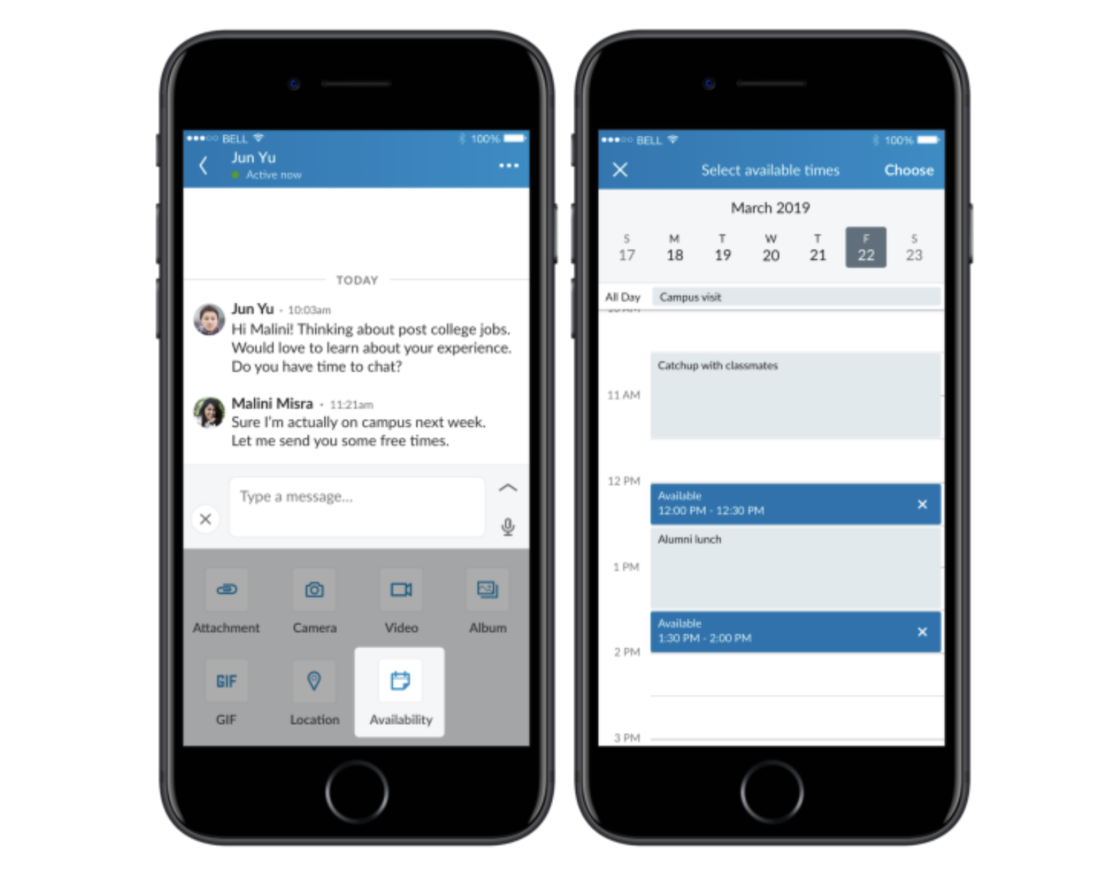Vous pouvez désormais programmer des rendez-vous sur LinkedIn