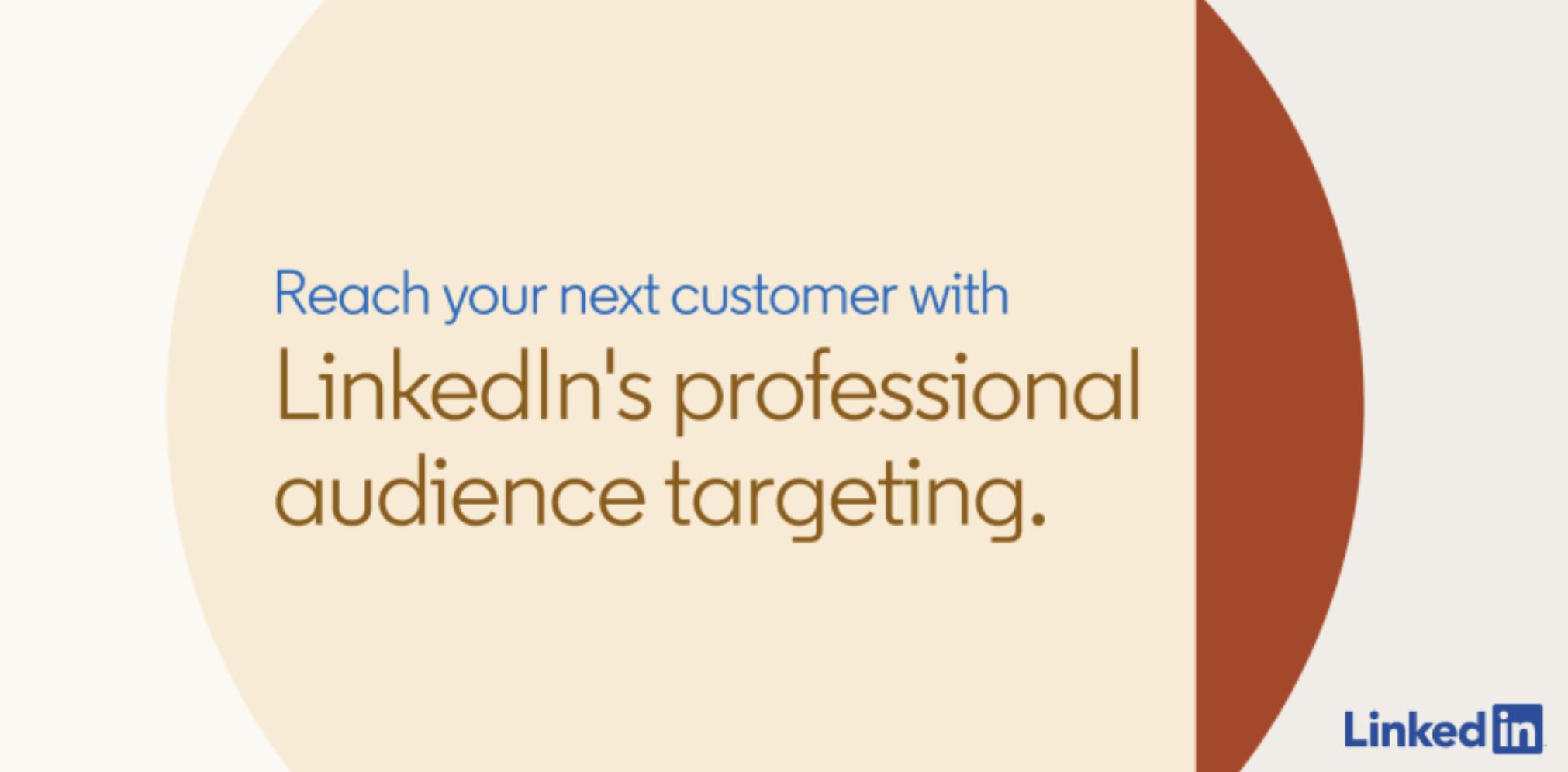 LinkedIn publie un guide sur le ciblage pour la publicité