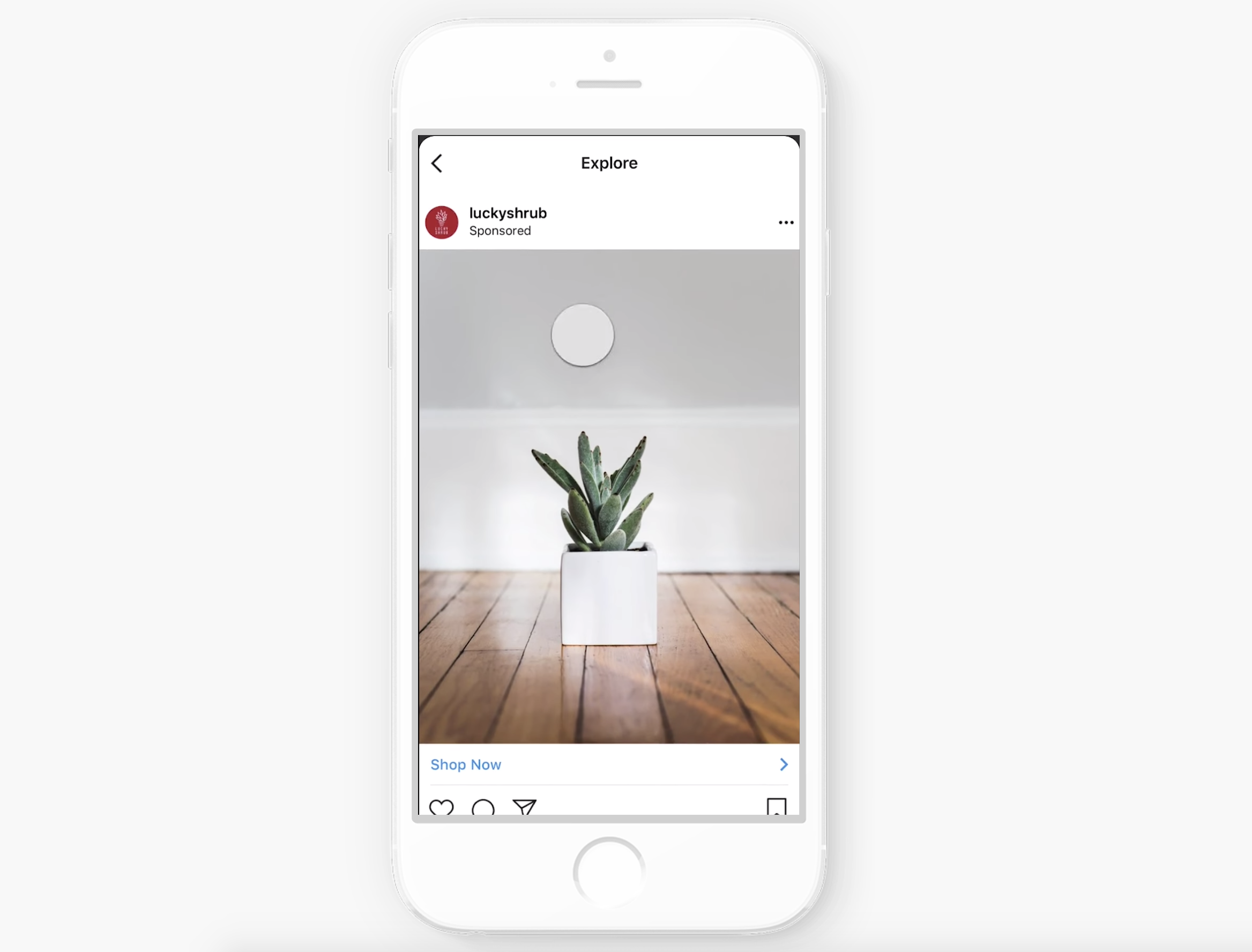 Instagram introduit une unité publicitaire dans Explore