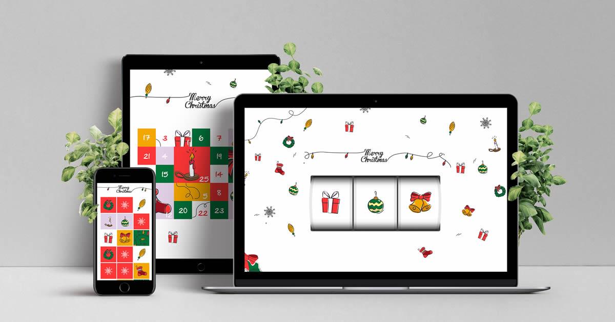 jeu concours interactif Noel