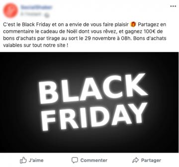 concours facebook black friday